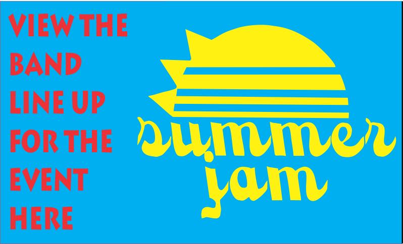 Summer Jam Band Line Up