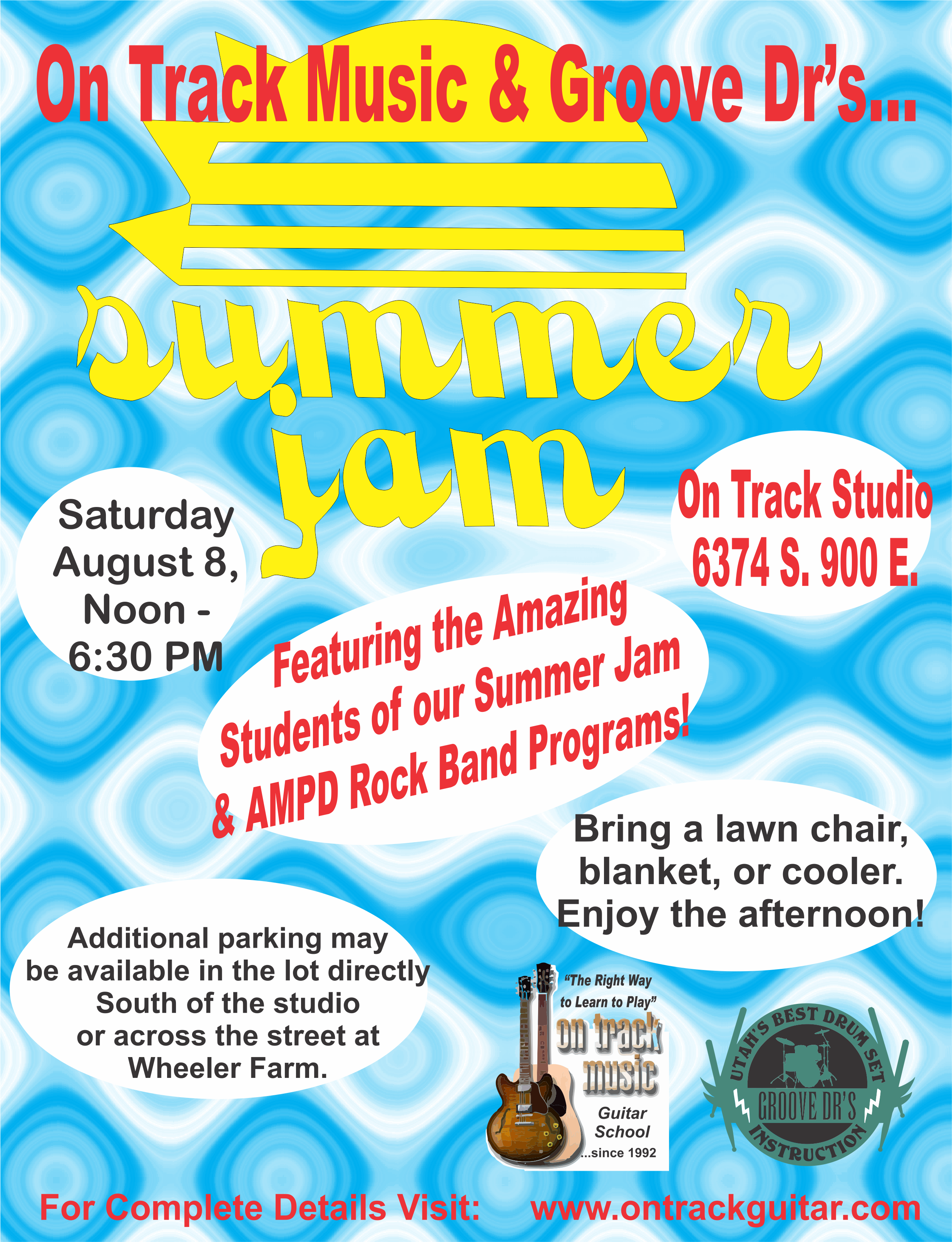 Summer Jam Poster 2015- converted to curves
